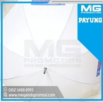 Payung Golf Promosi Putih