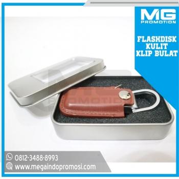 Flashdisk Promosi USB Kulit Premium