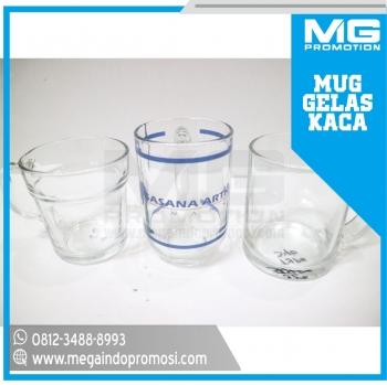 Gelas / Mug Kaca Promosi