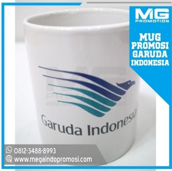 Gelas / Mug Sablon Garuda Indonesia