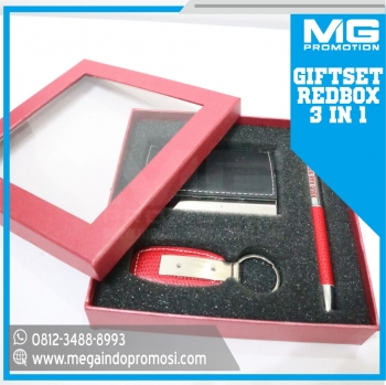 Giftset Promosi S1 Red 3 in 1