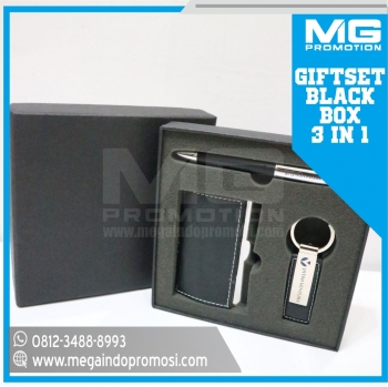 Giftset Promosi S4 Black 3 in 1